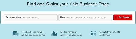 Yelp Business Claim