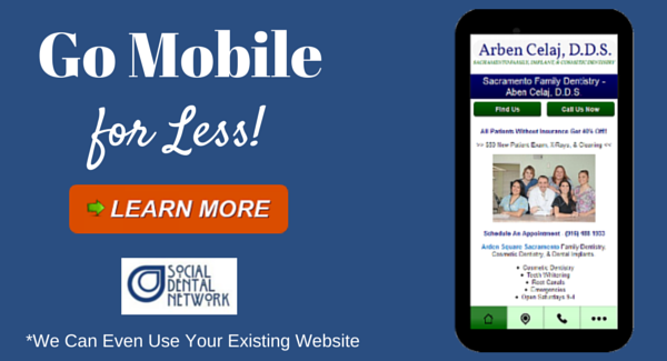 Mobile Websites, Responsive Sites, & Mobile Apps for Dentists