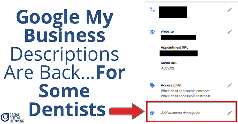 Are you a dentist concerned with what your Google My Business listing says about your practice