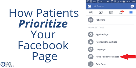 How Dentists on Facebook Get Every Post Seen By Patients First