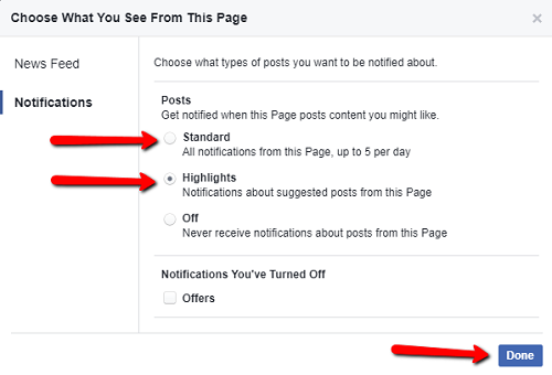 How Dentists on Facebook Get Every Post Seen By Patients on Desktop Step 3