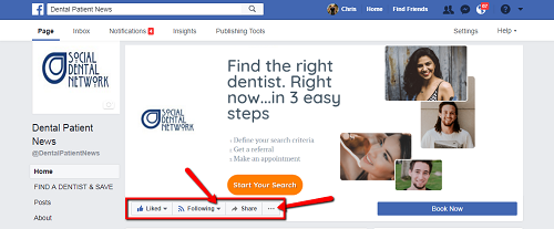 How Dentists on Facebook Get Every Post Seen By Patients on Desktop