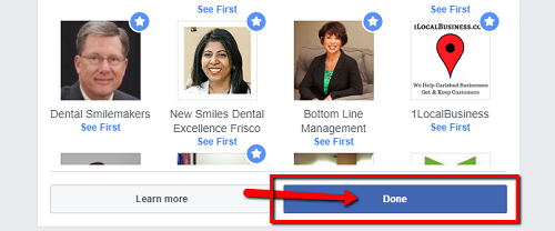 How Dentists on Facebook Get Every Post Seen By Patients on Desktop Step 5