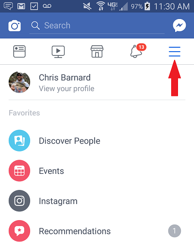 How Dentists on Facebook Get Every Post Seen By Patients on Mobile Step 1