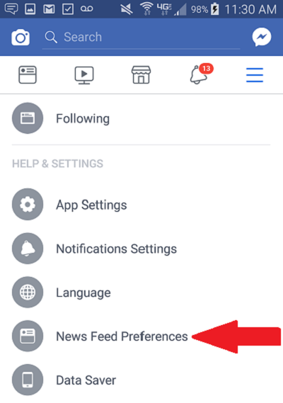 How Dentists on Facebook Get Every Post Seen By Patients on Mobile Step 2